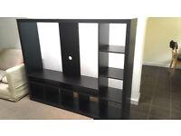 Ikea Lappland TV / Storage Unit - Black