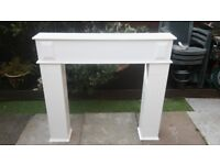Fire surround with compartments