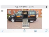 6 seater north Lanarkshire public hire taxi plate for sale