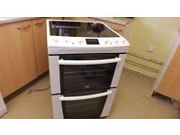 zanussi double oven electric cooker (spares or repair )
