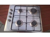 4 Burner Worktop Gas Hob Used In excellent condition