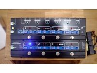 TheGigRig Pro/MIDI 8 Pedal Switching System