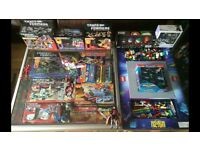 Wanted old toys and games transformers turtles thundercats Lego marvel Dc
