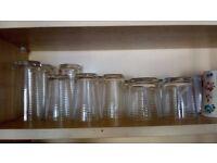 Cups, mugs, wine glasses