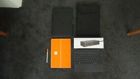 Microsoft Surface pro 4 i7 16Gb, 2 surface pens, dock, finger scan keyboard ,2 cases, scrn pro