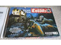 ESCAPE FROM COLDITZ ORIGINAL VINTAGE BOARD GAME - COMPLETE - Very Good Condition