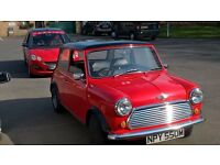classic mini,fully restored,24000 miles all paperwork and reciepts no expense spared,tax exempt
