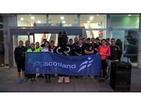 5K run with jogscotland & DW Fitness First
