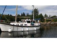 34 foot Colvic Watson motor sailor