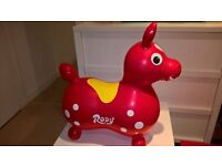 Rody inflatable bouncer toy