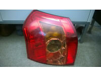 Rear left light cluster from Toyota Corolla (circa 2005).