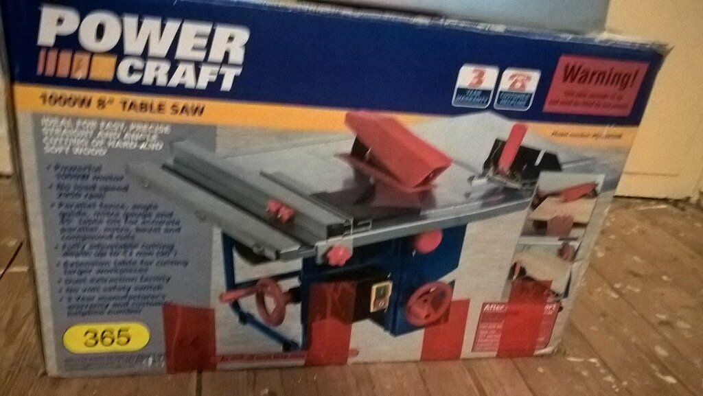 8' table saw great condition need gone asap