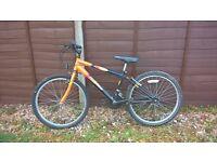 "Boy's 24"" mountain bike, in good condition £35"