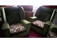 Two Matching Armchairs - Free to Good Home