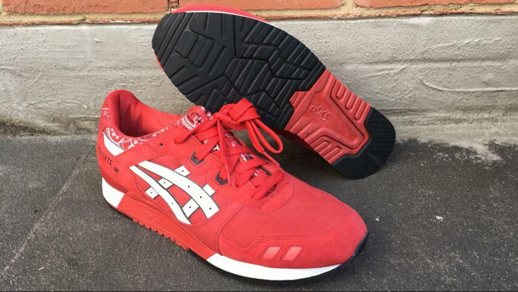Asics Gel Pack Lyte 3 Pack Bandana Rouge Rouge Taille 7271 UK 11 | dfd0e5c - welovebooks.website