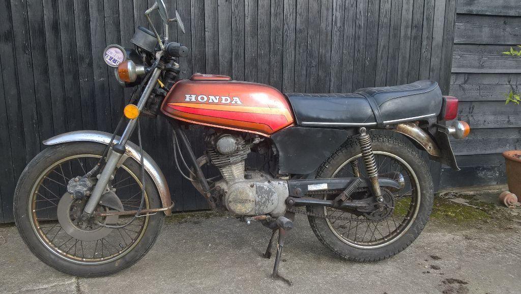 Honda Cb100n 1978