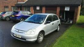 Honda Civic Max 1.4 Low mileage,very good condition,cheap for running