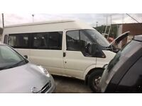 Spare or parts Ford transit van 2.4cc