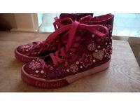 Size 2 Lelli Kelly Hi tops