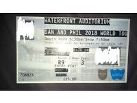 Dan & Phil World Tour Ticket