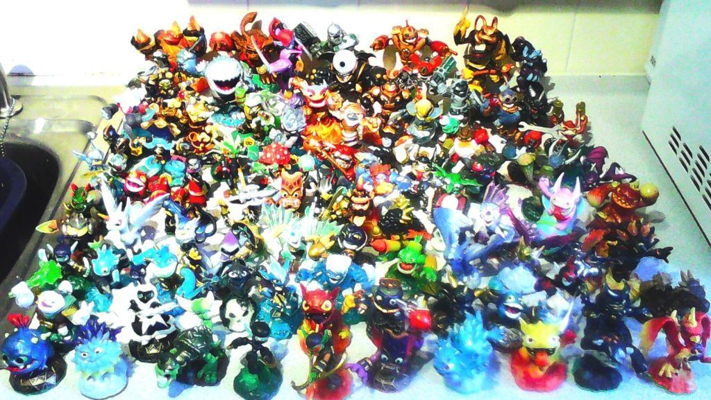 Large collection of Skylanders figures plus Swap Force PS4  : 86 from www.gumtree.com size 1024 x 577 jpeg 164kB