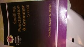 Spelling,Punctuation and Grammar for GCSE £5
