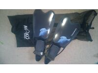 womens size 5 - 5.5 diving fins