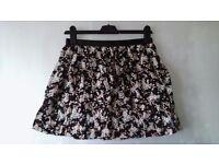 Party Black Skirt Set