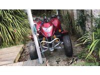 Apache borossa quad bike