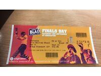 1 x T20 Blast finals day ticket - Hollies stand