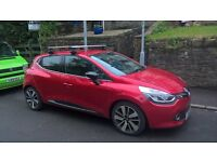 Thule Wing Bars & Pro Ride Twin Bicycle Carrier (Renault Clio)