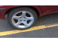 peuguot 206 rims alloys fit citroen saxo want to swap for four steel rims with a bit of cash on top