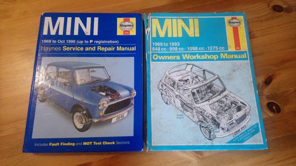 Haynes Original Mini Manuals
