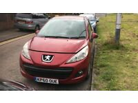 2010 Peugeot 207 Sport 3dr 1.4 Petrol Red BREAKING FOR SPARES