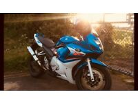 Suzuki GSX650 F motorcycle