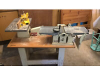 Kity K5 Combination Woodworking machine (for spares -failed motor) with tooling.