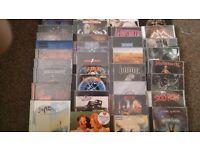 Huge Heavy Metal Thrash CD job lot