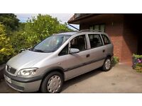 Vauxhall Zafira 2003 2.0 DTI , VGC but spares repairs for electronic fault
