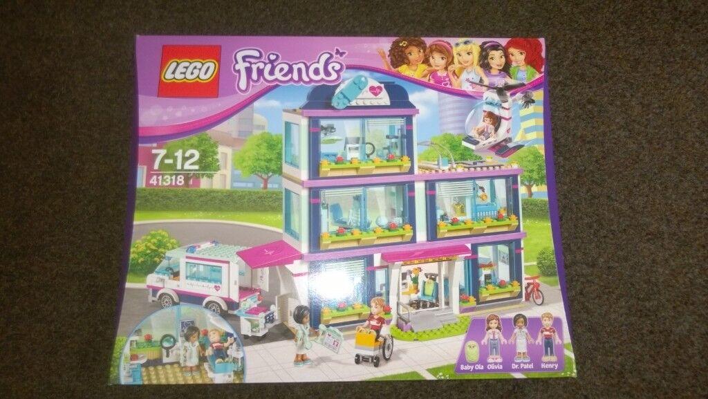 Lego Friends Hospital 41318 Bnib In Grantham Lincolnshire Gumtree