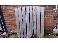 Wooden Gate with posts