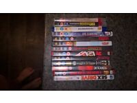 Various films and games