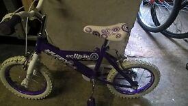 Girl's Huffy Exclispse Bike