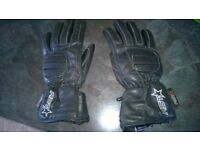 motorcycle gloves xxx small