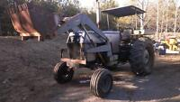 White 2-70 tractor with loader