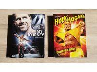 WWE DVD box sets - Hulk Hogan / Shawn Michaels - Newish condition