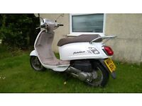 125cc Scooter Sym MOT until Jan 2018