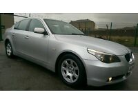 2004 04 REG BMW 530D SE E60, 4 DOOR SALOON, HPI CLEAR, FULL LEATHER INTERIOR, MANUAL, GOOD CONDITION
