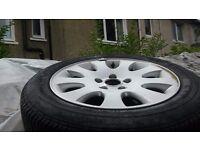 Audi alloy wheel 5x112 and good tyer 205 55 16 a6 a4 a3 a8