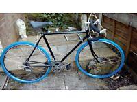 vintage retro road bike 21 inch frame