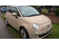 Fiat 500 Lounge, great condition, one lady owner, FSH, MOT and RFL September 2017